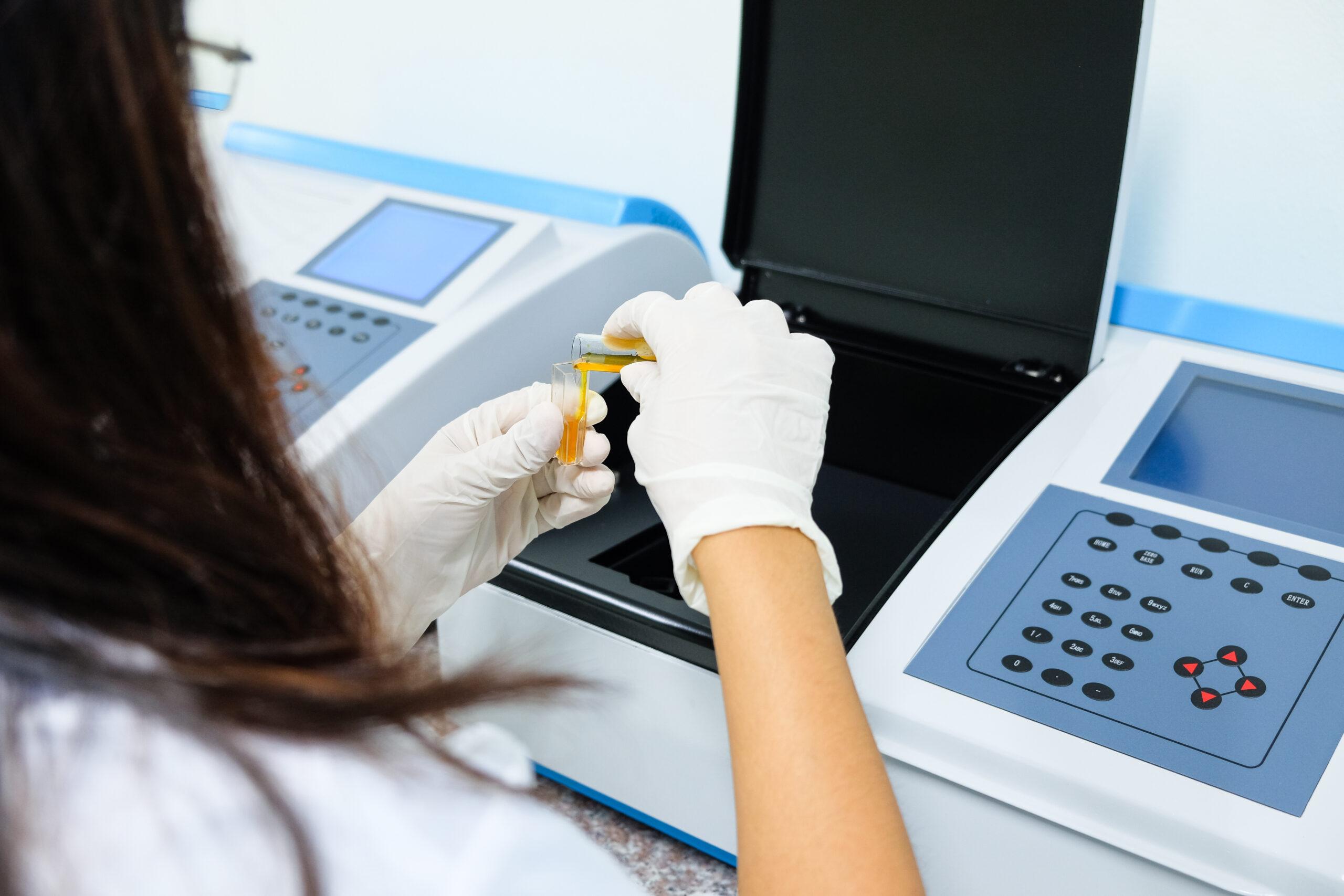 mikrolab ypiresies spectrometer analysis